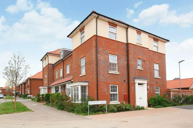 Thumbnail 4 bedroom town house for sale in Beresford Grove, Aylesham, Canterbury