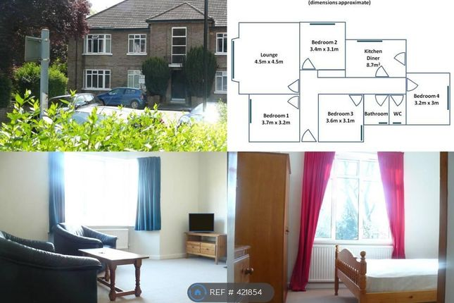 Thumbnail Flat to rent in Northcote Avenue, London