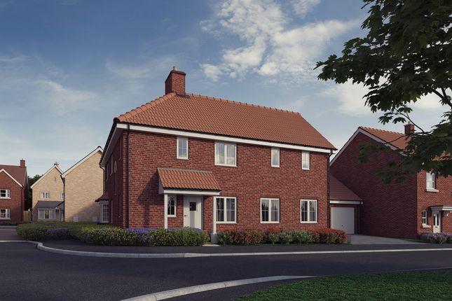 Thumbnail Detached house for sale in Plot 3, 'the Chancellors', Bedford Road, Moggerhanger
