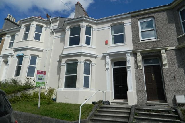 Thumbnail Terraced house for sale in Greenbank Avenue, Lipson, Plymouth