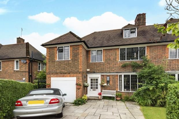 Thumbnail Semi-detached house for sale in Milton Close, Hampstead Garden Suburb, London