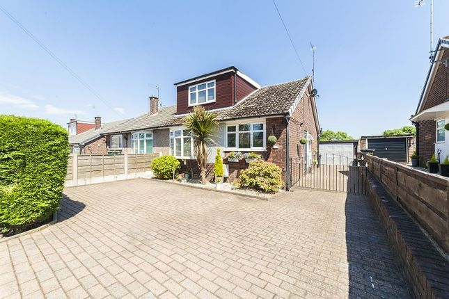 Thumbnail Semi-detached bungalow to rent in Liskeard Avenue, Heyside, Royton