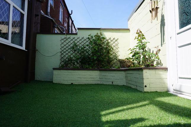 Rear Yard of Wilton Street, Chadderton, Oldham OL9