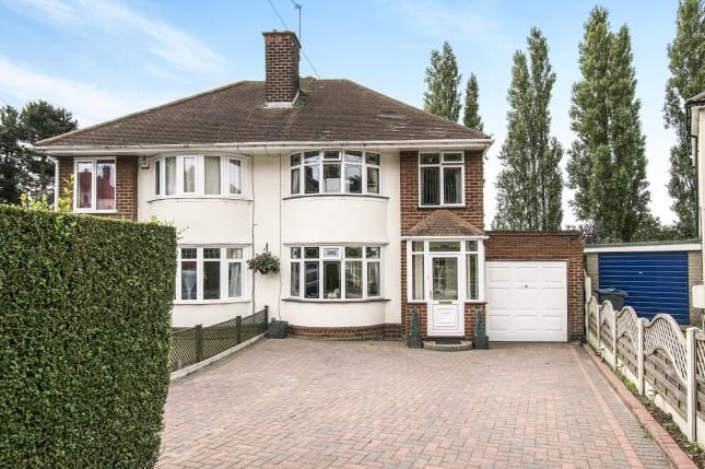Thumbnail Semi-detached house for sale in Endhill Road, Birmingham, West Midlands