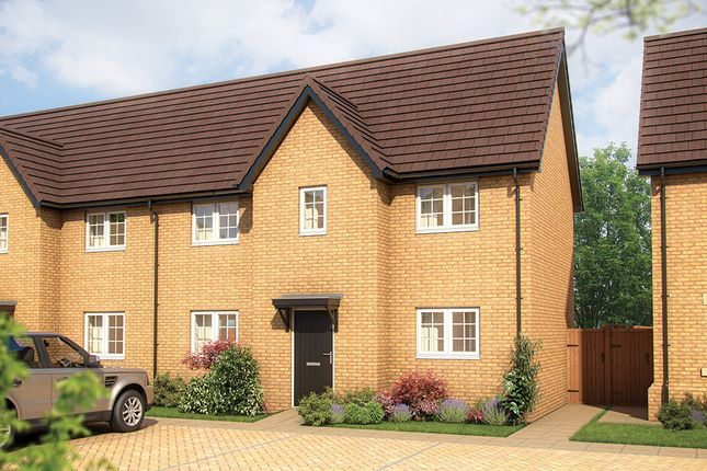 """Thumbnail Semi-detached house for sale in """"The Robin"""" at Shefford Road, Meppershall, Shefford"""