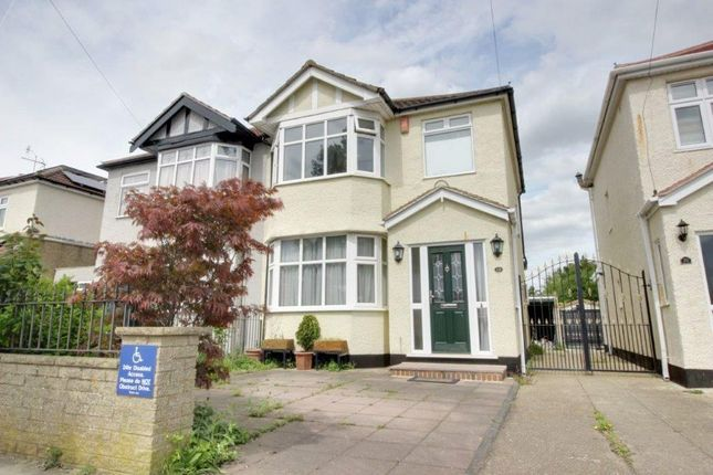 Thumbnail Semi-detached house for sale in Aldersbrook Avenue, Enfield