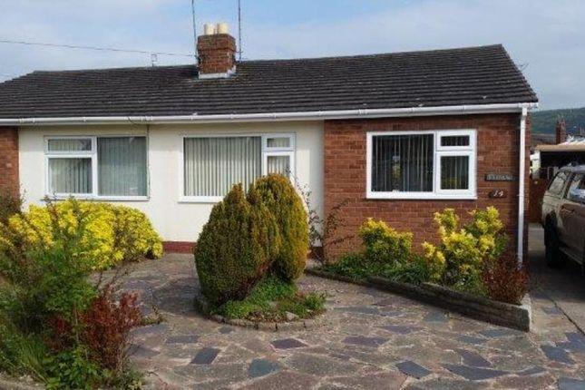 Thumbnail Semi-detached bungalow to rent in Lon Garnedd, Abergele