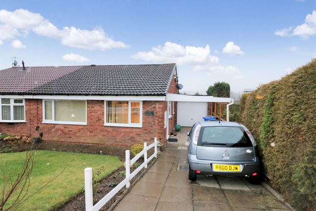 2 bed semi-detached bungalow for sale in Greenmoor Avenue, Fegg Hayes, Stoke-On-Trent