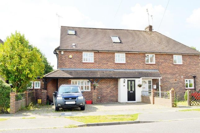 Thumbnail Semi-detached house for sale in Danes Way, Brentwood