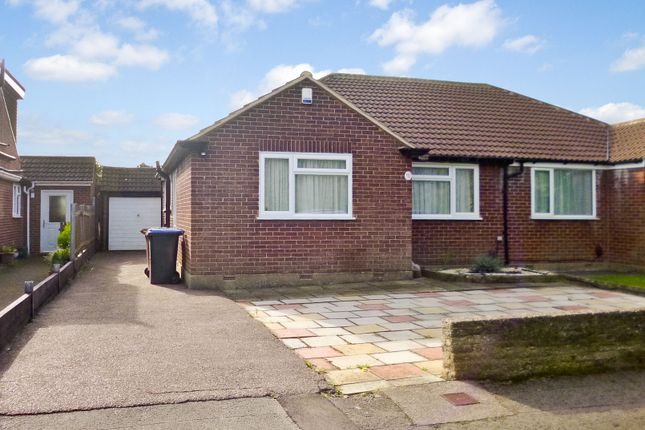 Thumbnail Semi-detached bungalow for sale in Pooleys Lane, Welham Green, Herts