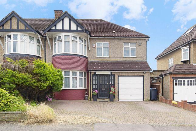 Thumbnail Semi-detached house for sale in Elgar Avenue, Surbiton
