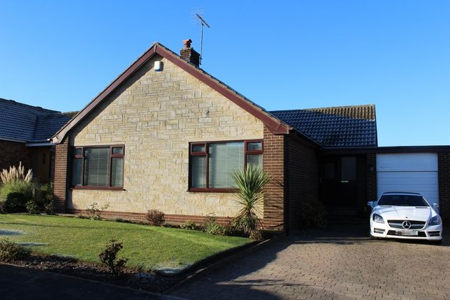 Thumbnail Detached bungalow to rent in Springfield Crescent, Kirk Smeaton