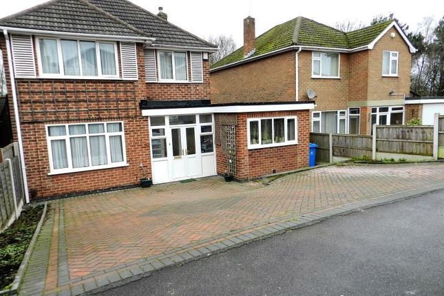 Thumbnail Detached house for sale in Balmoral Close, Littleover, Derby
