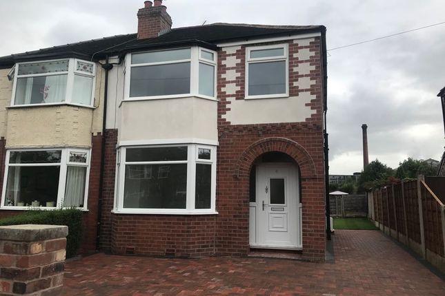 Thumbnail Semi-detached house to rent in Keswick Road, Heaton Chapel