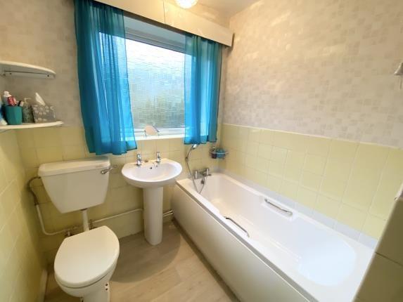 Bathroom of Englefield Crescent, Mynydd Isa, Mold, Flintshire CH7