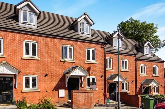 Thumbnail Terraced house for sale in Harrolds Close, Dursley, Gloucestershire