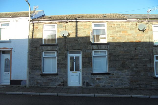 Thumbnail Terraced house to rent in Ynyslwyd Street, Aberdare