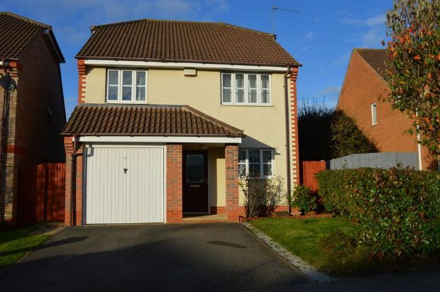Thumbnail Detached house to rent in Walkers Way, Wootton Fields, Northampton