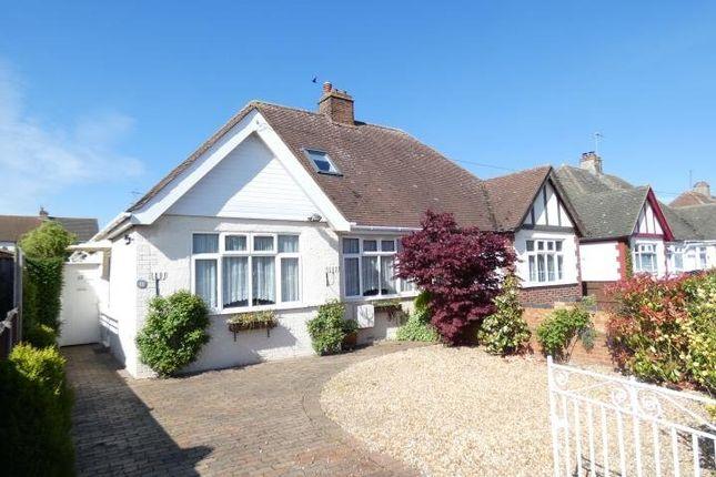 Thumbnail Semi-detached bungalow to rent in Chantry Avenue, Kempston, Bedford