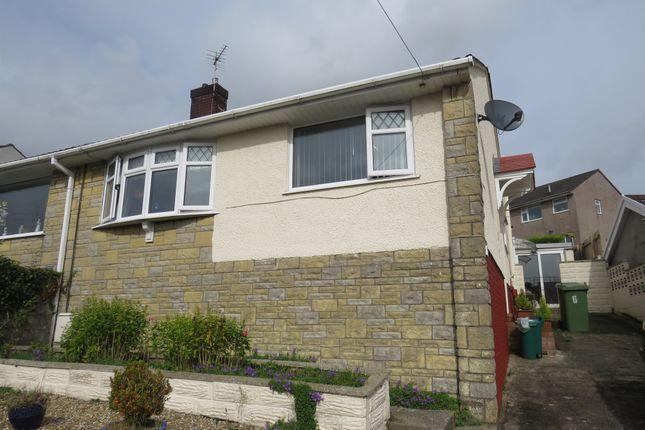 Thumbnail Semi-detached bungalow for sale in Tredegar Close, Llanharan, Pontyclun