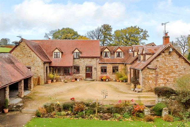Thumbnail Detached house for sale in Hopton Wafers, Kidderminster, Worcestershire