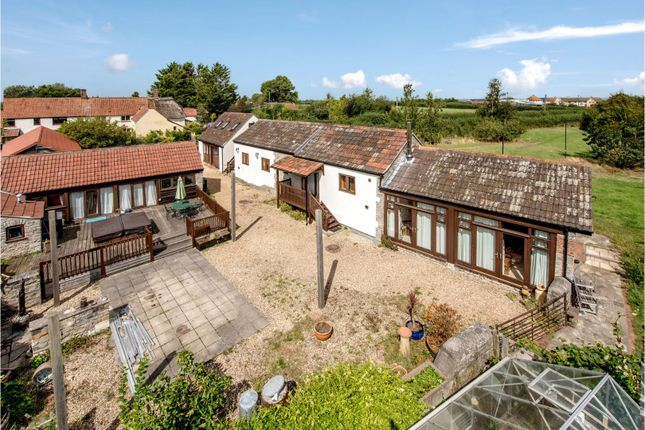 Thumbnail Barn conversion for sale in Dark Lane, Stoke St Gregory Taunton