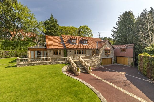Thumbnail Detached house for sale in Langbar Road, Middleton, Ilkley, West Yorkshire