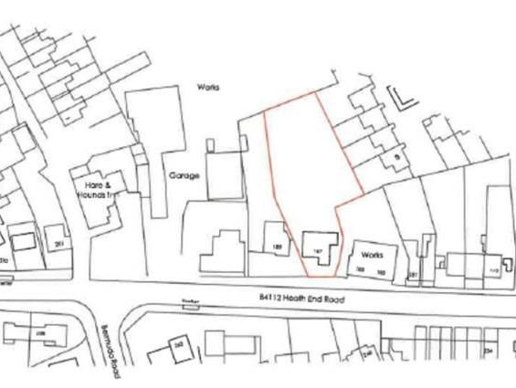 Thumbnail Land for sale in 187, Heath End Road, Nuneaton