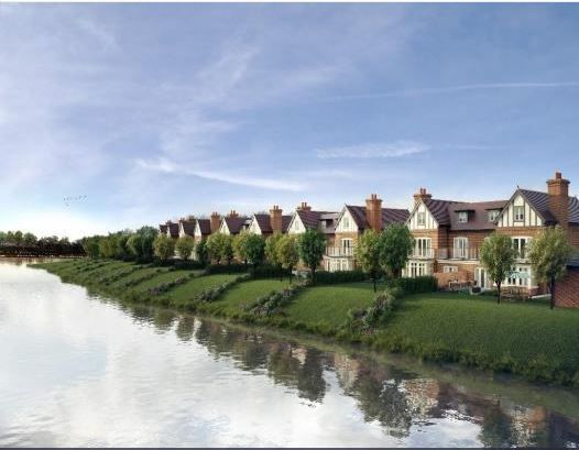 Thumbnail Detached house for sale in Taplow Riverside, Mill Lane, Taplow