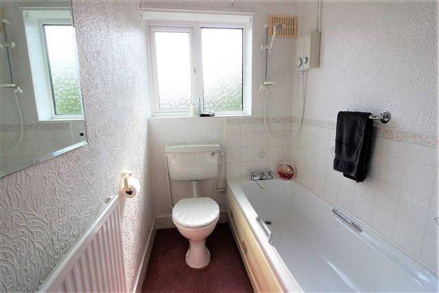 Bathroom of Lister Crescent, Basegreen, Sheffield S12