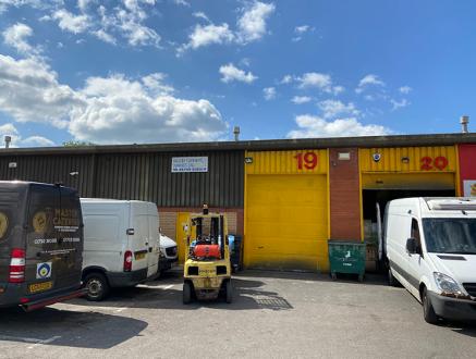 Light industrial to let in Unit 19 Clarion Court, Clarion Close, Enterprise Park, Swansea