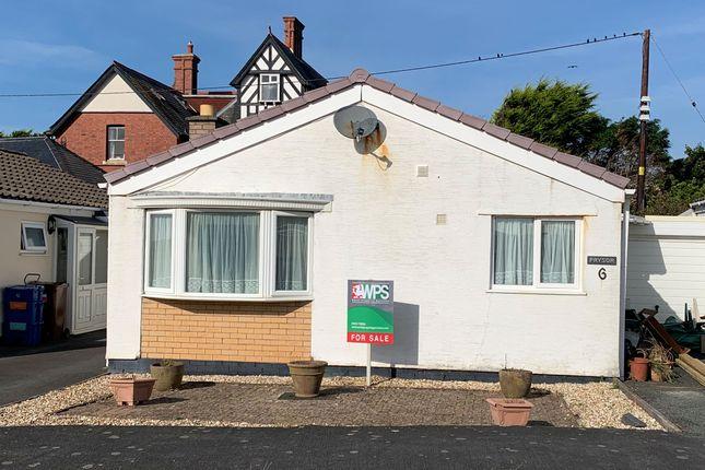 Thumbnail Semi-detached bungalow for sale in Tal Y Llyn Drive, Tywyn