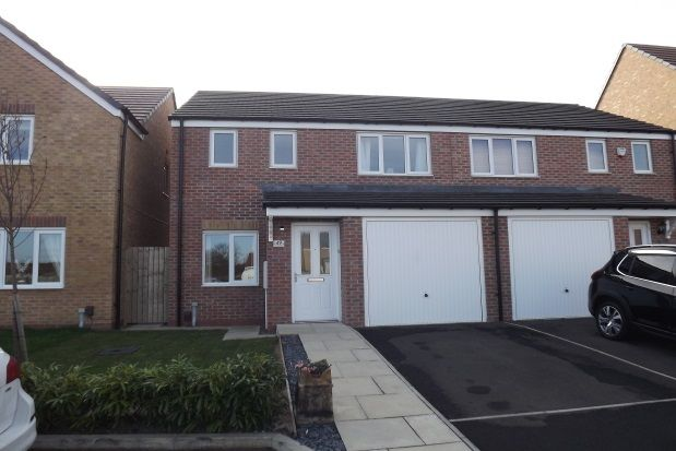 Thumbnail Semi-detached house to rent in Woolf Drive, Biddick Green, South Shields