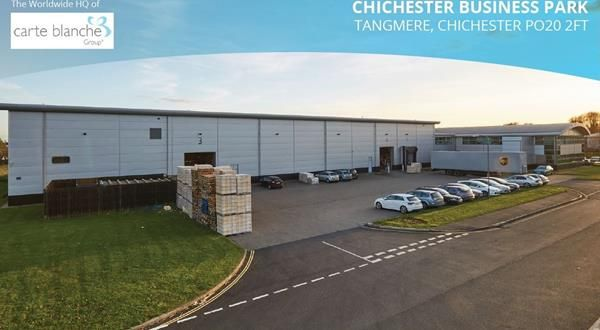 Thumbnail Commercial property for sale in Chichester Business Park, Unit 3, City Fields Way, Tangmere, Chichester, West Sussex