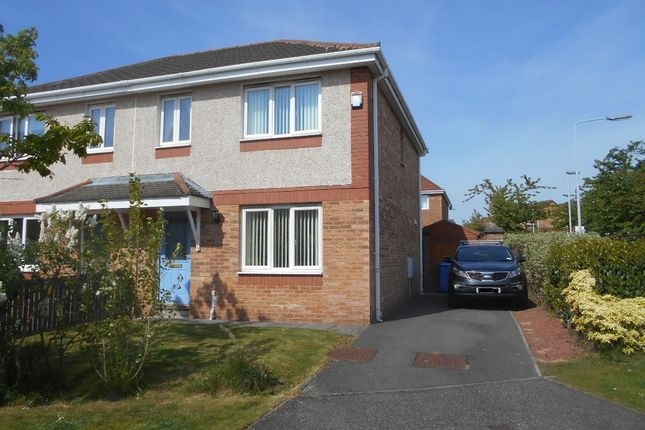 Thumbnail Semi-detached house to rent in Dover Heights, Dunfermline, Fife