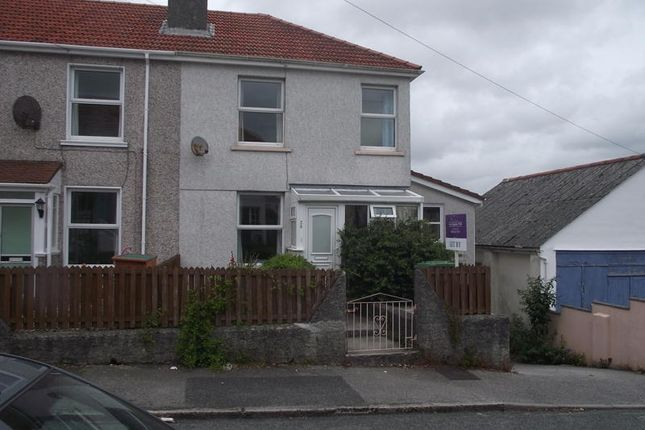 Thumbnail End terrace house to rent in Beacon Road, Falmouth