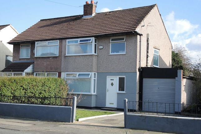 Thumbnail Semi-detached house for sale in Yew Tree Lane, West Derby, Liverpool