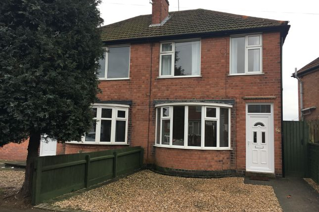 Thumbnail Semi-detached house to rent in Henley Crescent, Leicester