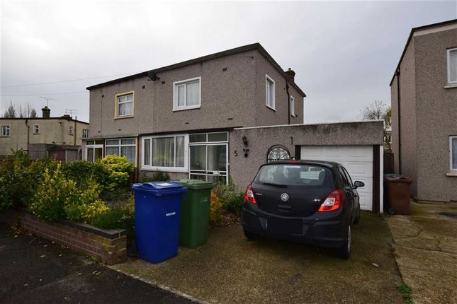 Thumbnail Semi-detached house for sale in King George VI Avenue, East Tilbury, Essex