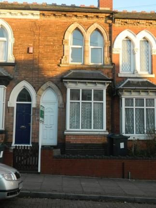 Thumbnail Terraced house to rent in Clarence Road, Handsworth