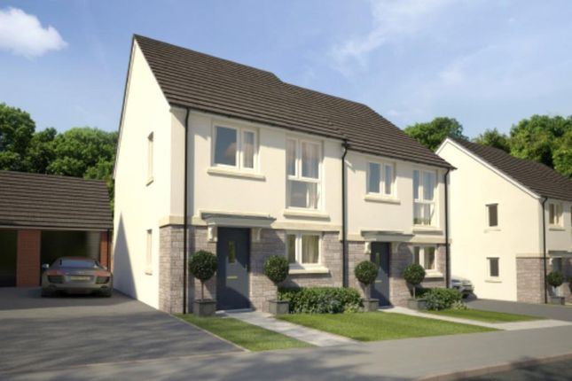 Thumbnail Semi-detached house for sale in Godrevy Parc, Hayle, Cornwall