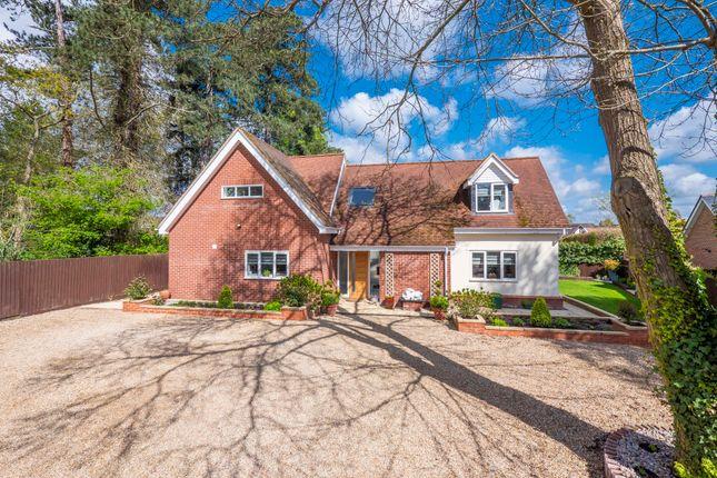 Thumbnail Detached house for sale in Hilltop, Horringer Road, Bury St. Edmunds
