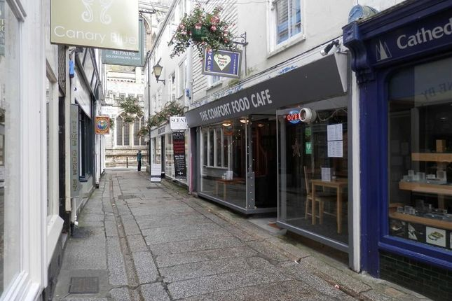 Restaurant/cafe for sale in The Comfort Food Cafe, 11, Cathedral Lane, Truro
