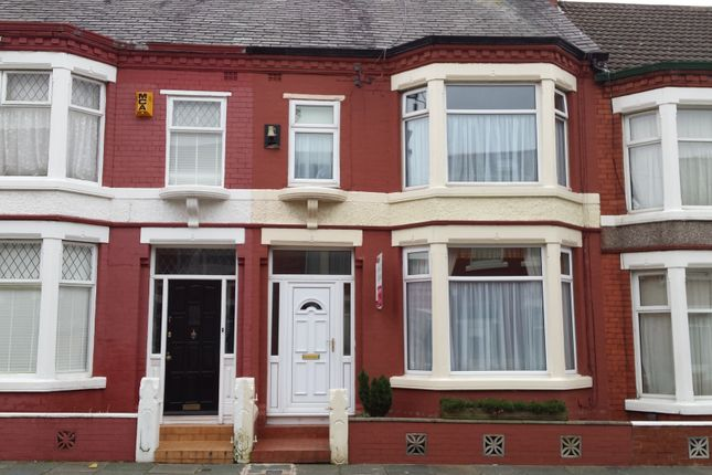 Thumbnail Terraced house to rent in Drayton Road, Wallasey