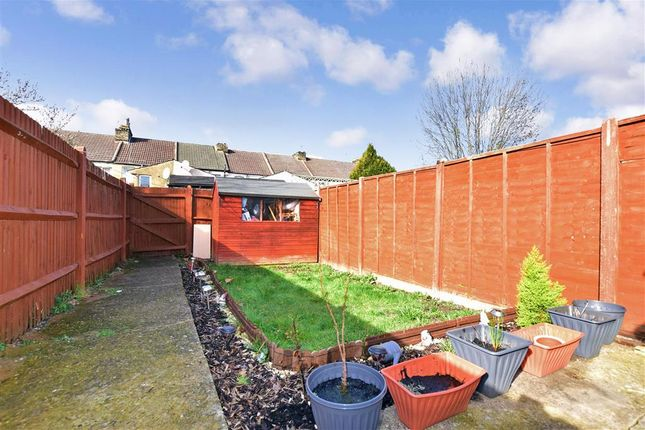 Rear Garden of Connaught Road, Chatham, Kent ME4