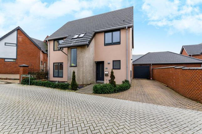 Thumbnail Detached house for sale in Conroy Close, Norwich