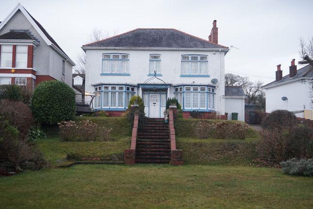 Thumbnail Detached house for sale in Hillside Park, Bargoed