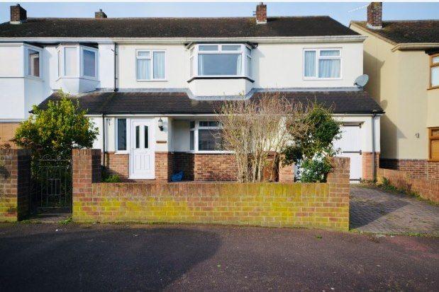 Thumbnail Semi-detached house to rent in Windyridge, Gillingham