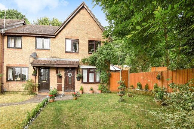 Thumbnail End terrace house for sale in Essex Close, Frimley
