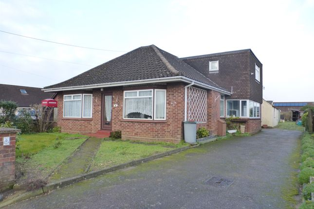 Thumbnail Bungalow for sale in Grove Avenue, New Costessey, Norwich
